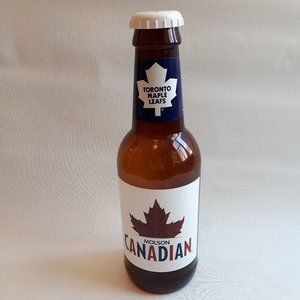 Molson Canadian Beer Bottle Coin Bank HUGE